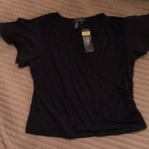 Ralph Lauren Navy Blue Top